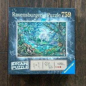 Ravensburger The Unicorn Escape Puzzle 759 pc